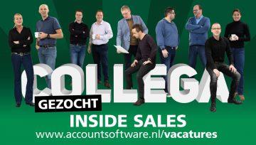 Collega Inside Sales gezocht!