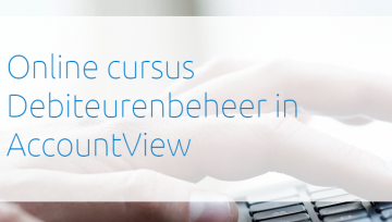 Online cursus Debiteurenbeheer in AccountView